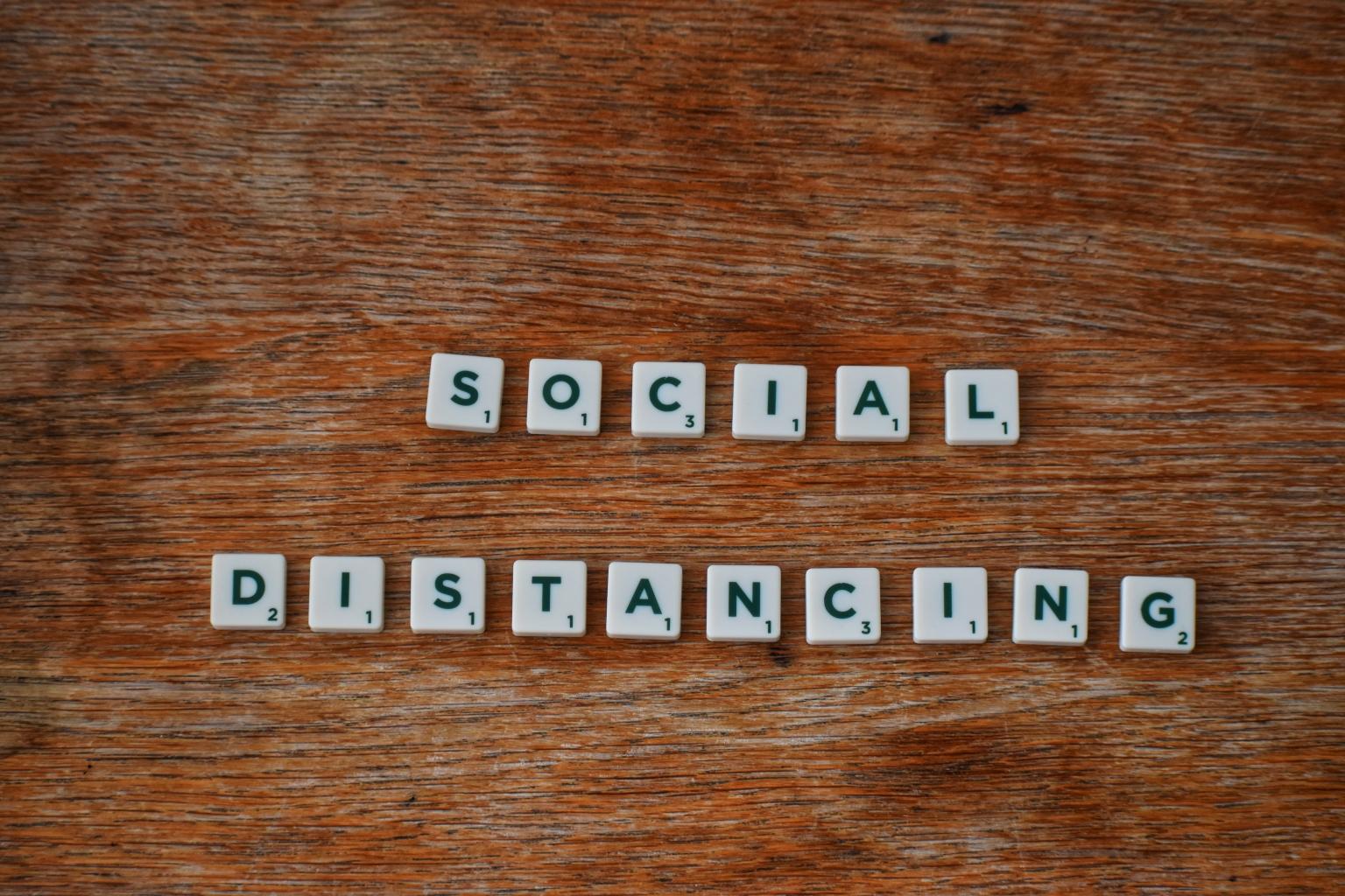 Be a Pro at Social Distancing